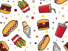 Junkfood Pattern