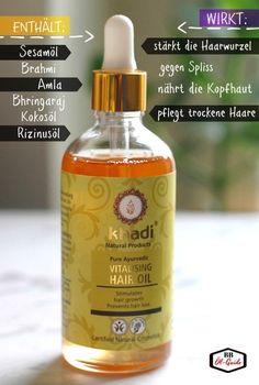 Beste HAARÖLE für dunes Haar. Stärkt die Haarfolikel, wirkt gegen Haarbruch und Spliss #haare #khadi #haarpflege #haarausfall #haaröl #ölguide #langehaare #duneshaar #naturkosmetik
