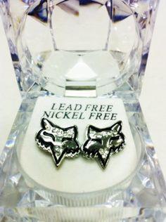 FOX HEAD SILVER ICED EARRINGS, http://www.amazon.com/dp/B007WG73WI/ref=cm_sw_r_pi_awd_79otsb0KWEMWE.....MINE!!!!!