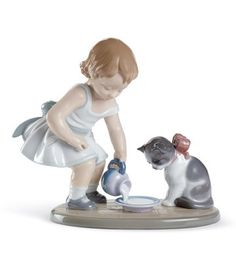 Lladro cats http://lladro.stores.yahoo.net/mypets.html