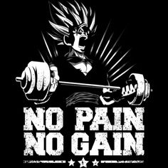 no pain no gain saiyan gym Art Print - Tap the pin if you love super heroes too! Cause guess what? you will LOVE these super hero fitness shirts! Gym For Beginners, Gym Logo, Art Graphique, Fan Art, Oeuvre D'art, Dragon Ball Z, Animation, Art Prints, Wallpaper