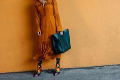 Die besten Street-Styles der skandinavischen Fashion Weeks / Mode-Trends / Mode / Vogue