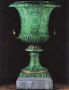 Chintz of Darkness: Malachite urn