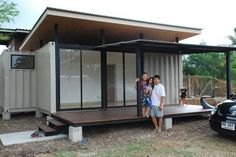 More shipping container homes
