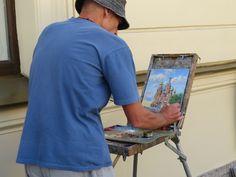 Artist in Sn Petersburg