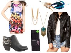 Whip up and Aria from PLL Halloween costume with clothes you already have!