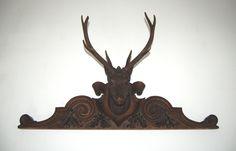 Fischer-Antics.com - Antique deer heads, wood carved deer heads & other hunt trophies