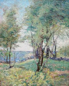Frank Alfred Bicknell (USA, 1866-1943) A May Morning
