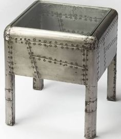 riveted metal desk - Google Search