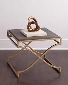 Candice Olson Impulse Bunching Side Table With Reen Top