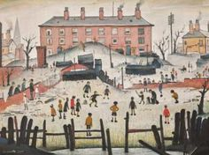 Image copyright Sotheby's Image caption A Cricket Match will go on sale during the World Cup A painting of children playing cricket by the artist LS Lowry Banksy, Most Famous Artists, Cricket World Cup, Cricket Match, Salford, Unique Paintings, Old Master, Art Studies, Art Auction