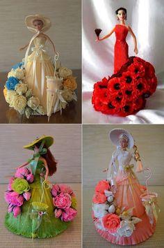 4.... DIY Crepe Paper Barbie Dress | www.FabArtDIY.com LIKE Us on Facebook ==> https://www.facebook.com/FabArtDIY