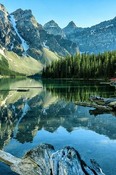 From Past To Present sublim-ature: Moraine Lake, AlbertaJohnny Minor Beautiful Nature Pictures, Amazing Nature, Nature Photos, Beautiful Landscapes, Beautiful World, Beautiful Places, Landscape Photos, Landscape Photography, Nature Photography