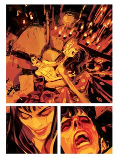 Dylan Dog MATER DOLOROSA page 24 by GigiCave on DeviantArt