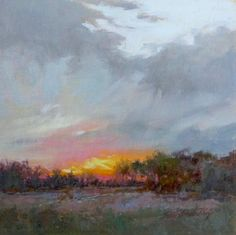 Oil Landcapes Paintings by Sara Linda Poly (Took a weekend workshop with her)