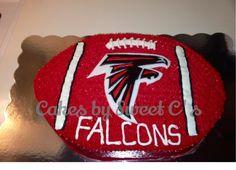 Falcons Friends Birthday Cake Football Cakes Ideas