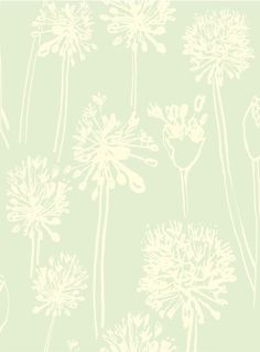Allium, half-drop repeat by Joan McGuire