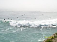 """Cowell's Beach - Santa Cruz, CA ~ """"Located right in front of the infamous Dream Inn and adjacent to the Santa Cruz Wharf"""" - surfers"""