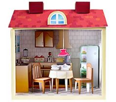 barbie dollhouse printables | Home appliance – Doll house kitchen set paper model
