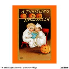 """"""" A Thrilling Halloween"""""""