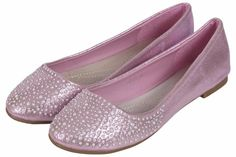 New Womens Diamante Ballerina Dolly Pumps Ladies Bridal Flat Loafers work Shoes