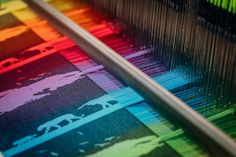 LennyLamb fans know Safari Rainbow design very well. Those of you who have just started following us, will be impressed by the colors... #Artofweaving #singleorigin #handwoveninspired #diy #fabricart #wystrójwnętrz #lennylamb