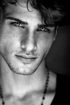 A pretty boy, but with his bone structure I know he will mature into a lovely man.