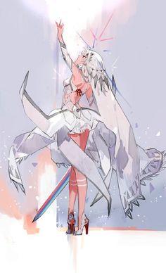 fate grand order attila art,so cool Fate Zero, Fate Stay Night, Anime Art Girl, Manga Art, Fantasy Characters, Anime Characters, Character Concept, Character Art, Pixiv Fantasia