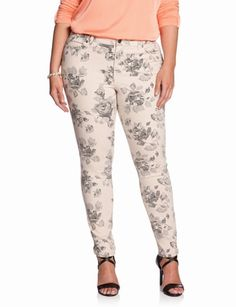 8d3ba8e16ac Printed Skinny Jean - plus size Women s Plus Size Jeans