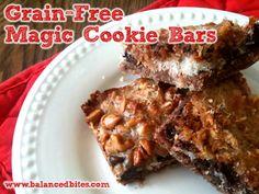 Grain-Free Magic Cookie Bars  #BalancedBites