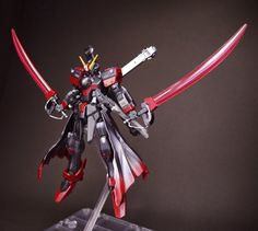 GUNDAM GUY: 1/144 Crossbone Gundam Black-Flag - Customized Build