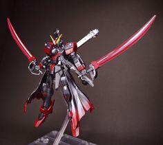GUNDAM GUY: 1/144 Crossbone Gundam Black-Flag - Customized Build