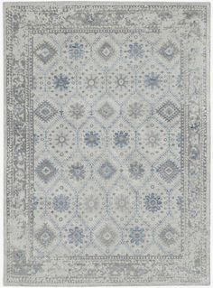 Beige, Blue, Grey (DIV-2) Traditional / Oriental Area Rug Beige Style, Entertainment Furniture, Leather Furniture, Muted Colors, Hang Tags, Hand Knotted Rugs, Knots, Crafts, Manualidades