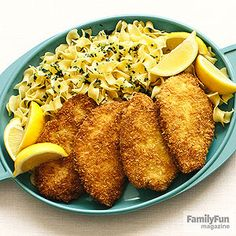 Schnitzel with Noodles: Famed for its mention in The Sound of Music, this kid-pleasing cutlet dish is likely to become one of your family's favorite things.