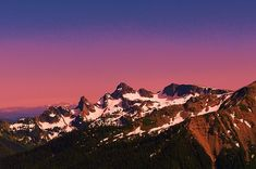 Morning in the Cascades by Jeff Swan