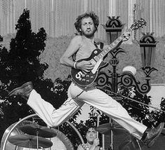 Pete Townshend performing at Day on the Green, Oakland Coliseum, October 9.  The Grateful Dead shared the bill with The Who.