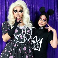 Kim Chi and Cynthia Lee Fountaine Ab Fab, Lip Sync, Drag Queens, Season 8, Double Trouble, Rupaul, Girls Be Like, Kimchi, Reality Tv