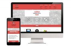 Responsive website for Viisaampi Marketing by Viisaampi Marketing. Content in Finnish.