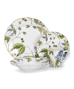 38 Piece Lenox Sunflower Dinnerware Set | My Cottage | Pinterest ...