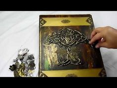 Huge Old World Druid's Book (Butterbeescraps DT Project) - YouTube
