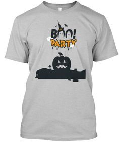 Halloween T Shirts And Hoodies Light Heather Grey  T-Shirt Front
