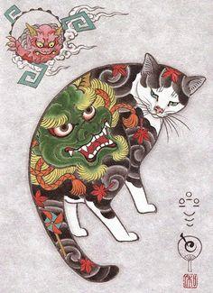 I gatti tatuati di Horitomo | PICAME    #Horitomo