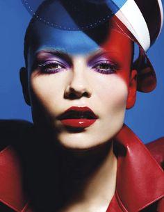 Natasha Poly for Vogue Paris, May 2012. Photographed by Mario Sorrenti.