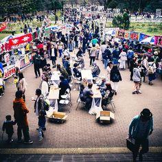 A special Saturday in Yoyogi Park #Tokyo #Japan
