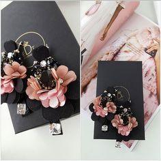 #earrings #earringfashion #handmadejewelry #handmade #jewelrydesign #jewelry #jewellery #jewellerydesign #jewels #design #details #style #stone #swarovskicrystals #swarovski #black #fashionblogger #fashionearrings #fashionista #fashion #accessories #edtaccessories