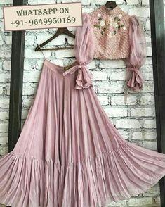Designer lehenga readymade blouse lehenga choli for women Indian lehenga fancy lehenga skirt ghaghra choli chaniya choli lehenga choli Blouse Lehenga, Lehnga Dress, Lehenga Choli, Lehenga Skirt, Sharara, Pakistani Dresses, Indian Dresses, Indian Outfits, Indian Lehenga