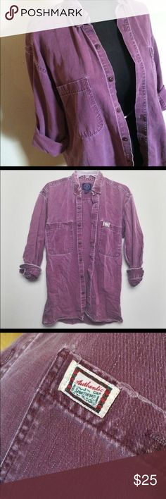 Vintage Light Maroon Long Sleeve button down •Vintage Button Down •Gap •Oversized Fit •Washed look •Male Size Small •Perfect for layering  •Approximately 30 inches in length   #oversizedshirt #oversizedbuttondown #vintage #vintageshirt #longsleeves #winterfashion #layeredfashion #washedlook GAP Tops Button Down Shirts