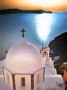 Santorini Sunset by Dani David on 500px