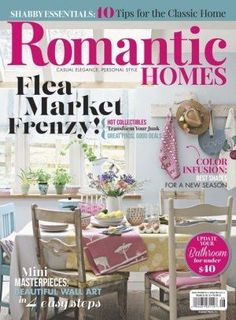 Romantic Homes Magazine: Single Issue, Back issues and Combos ...