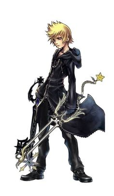 Look at his empty face.It's like he lost something he can't remember. Roxas Kingdom Hearts, Kingdom Hearts Games, Kingdom 3, Kingdom Hearts Characters, Kaito, Kingdom Hearts Wallpaper, Character Art, Character Design, Tetsuya Nomura